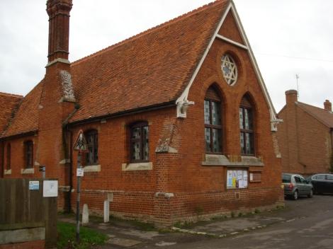 Dorchesters Village Hall. Eigenes Foto.
