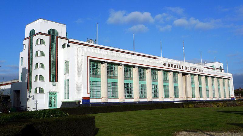 Das Hoover Building Im Londoner Stadtteil Perivale An Der