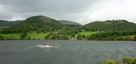 Die Lady of the Lake im Ullswater-See.    © Copyright Karl and Ali