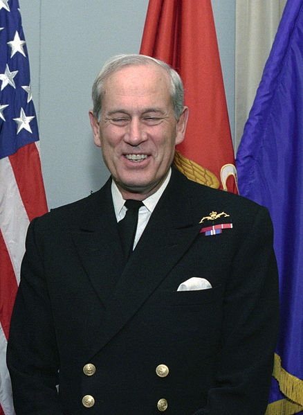 Der gegenwärtige Lord Warden Michael Cecil Boyce. As a work of the U.S. federal government, the image is in the public domain.