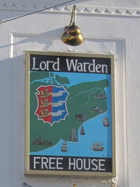 Auch ein Pub in Hastings wurde nach dem Lod Warden benannt.   © Copyright Oast House Archive