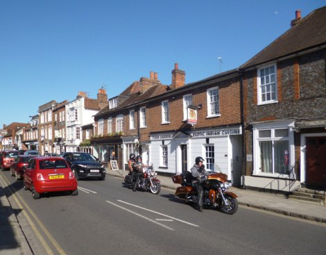 Die West Street in Marlow (Buckinghamshire).    © Copyright Des Blenkinsopp