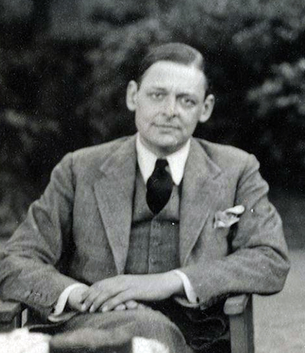 T.S. Eliot.  This image (or other media file) is in the public domain because its copyright has expired.