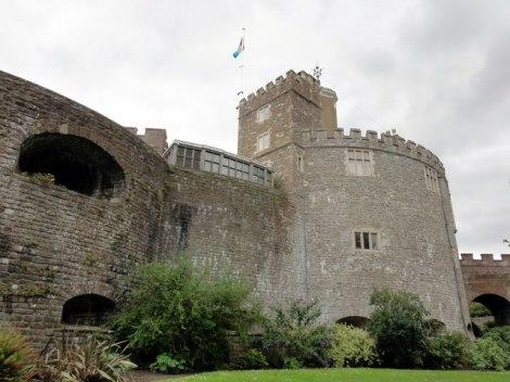 Walmer Castle, Amtssitz des Lord Warden.   © Copyright Helmut Zozmann