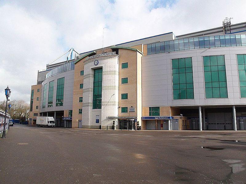 Das Stadion des Chelsea FC: Stamford Bridge. Author: Nick Mehlert. This file is licensed under the Creative Commons Attribution 2.0 Generic license.