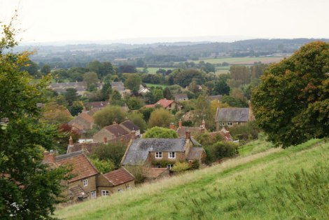 Chiselborough in Somerset.    © Copyright Andy Pearce and   licensed for reuse under this Creative Commons Licence.