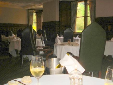 Im Restaurant des Ettington Park Hotels. Eigenes Foto.