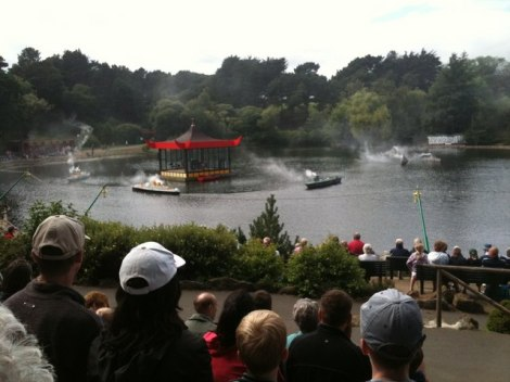 The Battle of Peasholm Park.   © Copyright hayley green and licensed for reuse under this Creative Commons Licence.