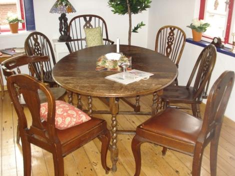 Der Tea Room im obersten Stockwerk. Eigenes Foto.
