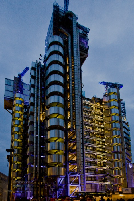 Lloyd's of London. This image is copyright-free