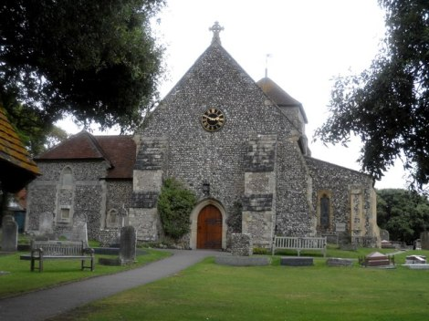 St Margaret's in Rottingdean.   © Copyright b davies and   licensed for reuse under this Creative Commons Licence.