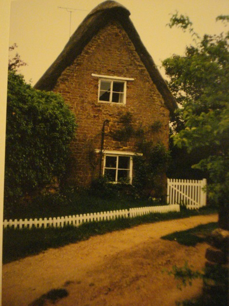 Das Pear Tree Cottage in der West Street in Shutford- Eigenes Foto.