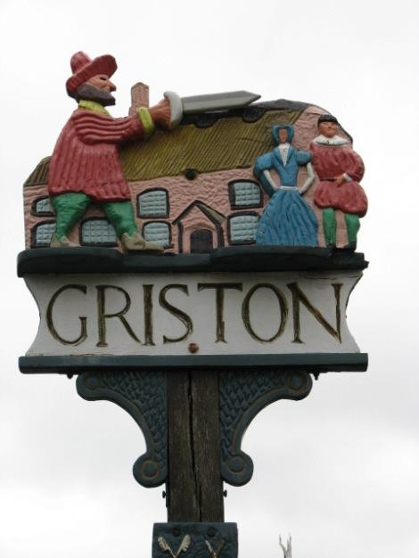 Und so interpretiert der Ort Griston in Norfolk die Geschichte der Babes in the Wood.   © Copyright Evelyn Simak and   licensed for reuse under this Creative Commons Licence.