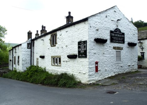 The George Inn in Hubberholme (North Yorkshire).    © Copyright Andy Beecroft and   licensed for reuse under this Creative Commons Licence.