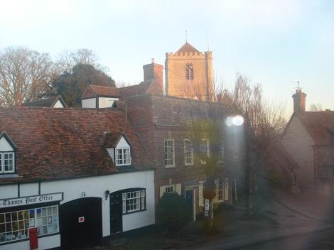Die Dorchester Abbey. Eigenes Foto.