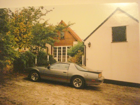 Mein Auto konnte ich direkt vor dem Cottage parken. Eigenes Foto.