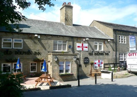 The Old Dolphin in Queensberry (West Yorkshire).    © Copyright Humphrey Bolton and   licensed for reuse under this Creative Commons Licence.