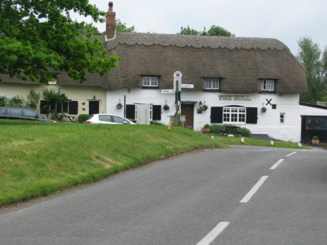 The Bull in Great Milton (Oxfordshire).   © Copyright Sarah Charlesworth and licensed for reuse under this Creative Commons Licence.