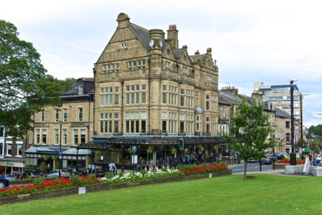 Bettys Café Tea rooms in Harrogate (West Yorkshire).    © Copyright Paul Buckingham and   licensed for reuse under this Creative Commons Licence.