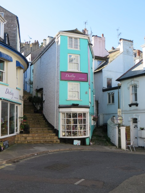 The Coffin House in Brixham (Devon). Eigenes Foto.