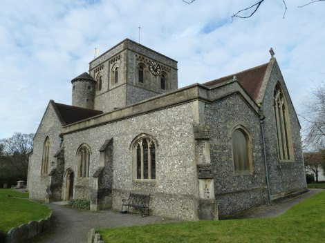 St Mary's in Kingsclere.    © Copyright Basher Eyre and   licensed for reuse under this Creative Commons Licence.