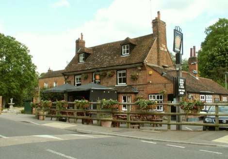 The Sunn Inn in Lemsford.    © Copyright Robert Edwards and   licensed for reuse under this Creative Commons Licence.