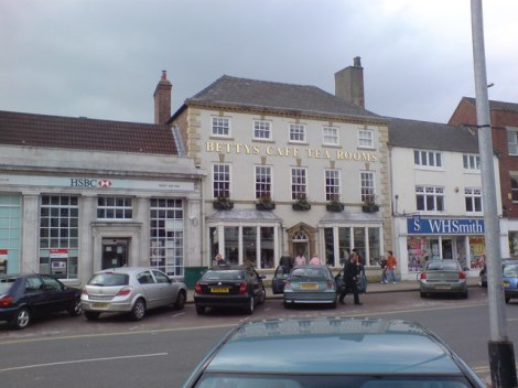 Bettys in Northallerton (North Yorkshire).    © Copyright Frank Glover and   licensed for reuse under this Creative Commons Licence.