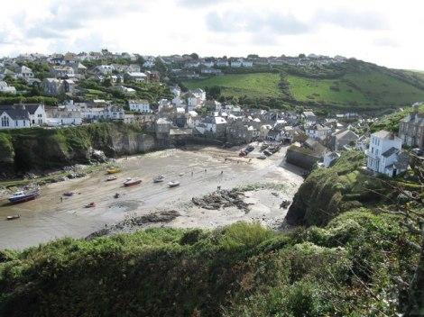 Port Isaac in Cornwall.    © Copyright Robin Drayton and   licensed for reuse under this Creative Commons Licence.