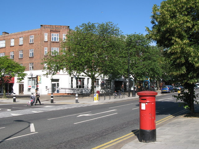Haverstock Hill in Belsize Park.  © Copyright Mike Quinn and licensed for reuse under this Creative Commons Licence.