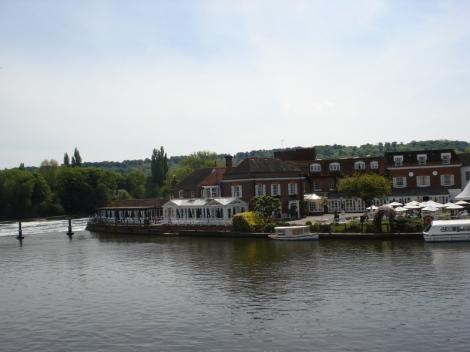 Die Themse in Marlow. Eigenes Foto.