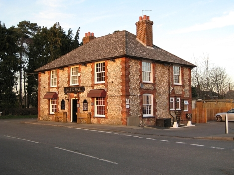 The Bat and Ball in Holmer Green (Buckinghamshire).    © Copyright Cathy Cox and   licensed for reuse under this Creative Commons Licence.