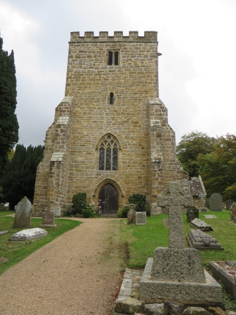 St Michael and All Angels in Withyham. Eigenes Foto.