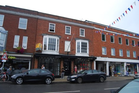 Marlow High Street.    © Copyright N Chadwick and   licensed for reuse under this Creative Commons Licence.