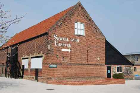 Das Sewell Barn Theatre in Norwich. Copyright: Literary Norfolk