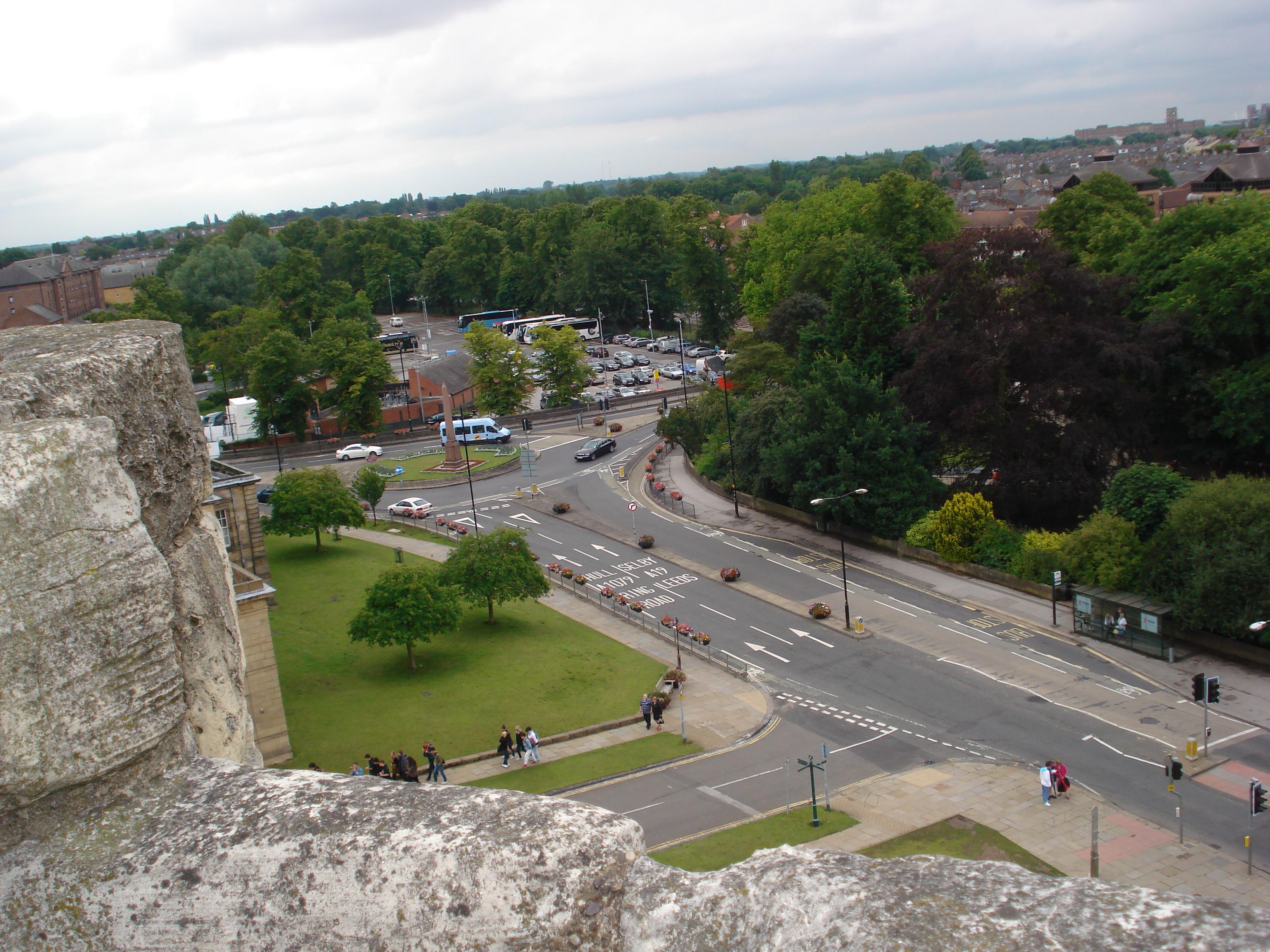 Blick vom clifford tower eigenes foto