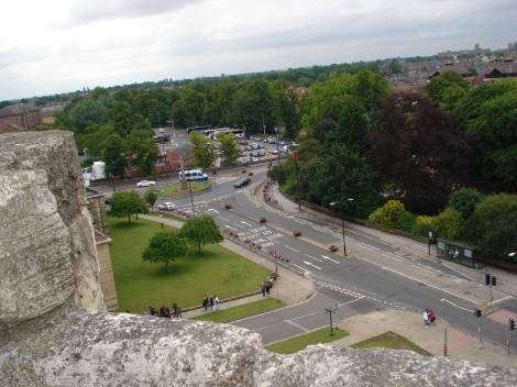 Blick vom Clifford Tower. Eigenes Foto.