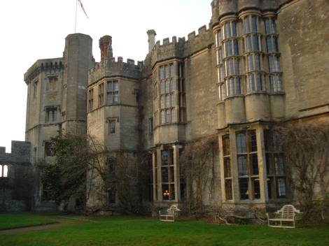Thornbury Castle Hotel in Gloucestershire. Eigenes Foto.