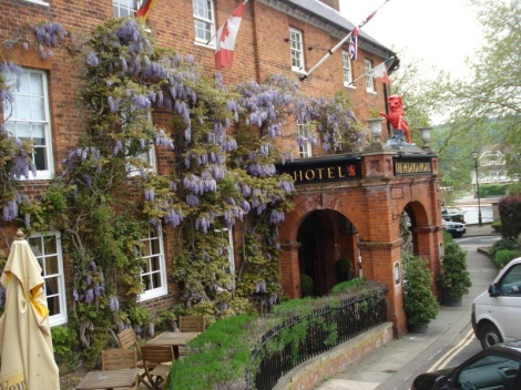 The Red Lion Hotel in Henley-on-Thames. Eigenes Foto.