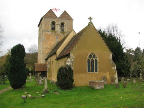 St Bartholomew's in Fingest.    © Copyright Sarah Charlesworth and   licensed for reuse under this Creative Commons Licence.