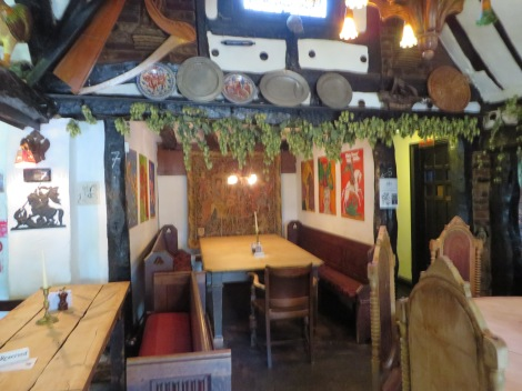 Das Restaurant des Royal Standards. Eigenes Foto.