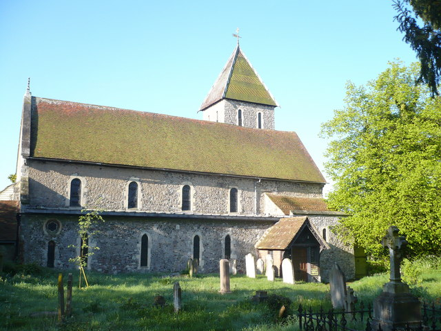 St Mary Magdalen and St Lawrence in Davington (Kent).   © Copyright pam fray and   licensed for reuse under this Creative Commons Licence.