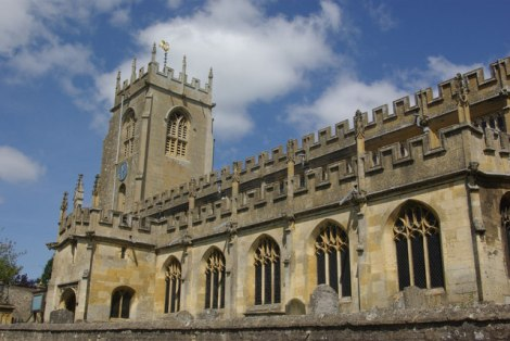St Peter in Winchcombe.    © Copyright Stephen McKay and   licensed for reuse under this Creative Commons Licence.