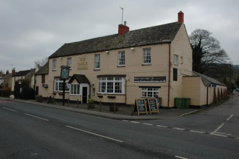 The Cheese Rollers Inn in Shurdington.    © Copyright Philip Halling and   licensed for reuse under this Creative Commons Licence.