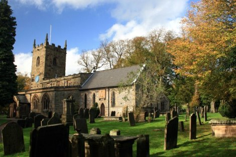 St Lawrence in Eyam (Derbyshire).    © Copyright Graham Hogg and   licensed for reuse under this Creative Commons Licence.