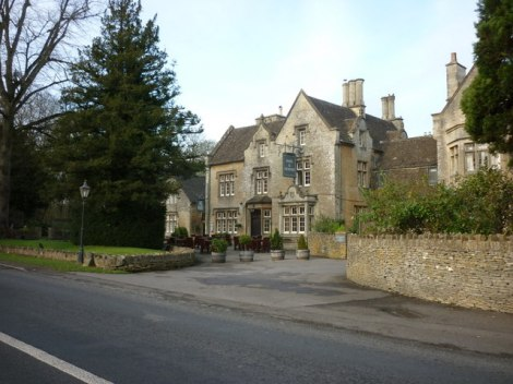 The Hare & Hounds in Westonbirt (Gloucestershire).    © Copyright Ian S and   licensed for reuse under this Creative Commons Licence.