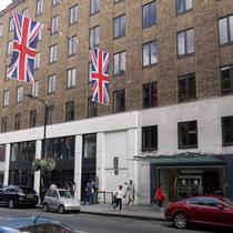 Bruton Street 17 in Mayfair. Copyright: London Remebers.