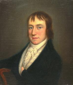 William Wordsworth; Porträt von William Shuter. This image is in the public domain because its copyright has expired.