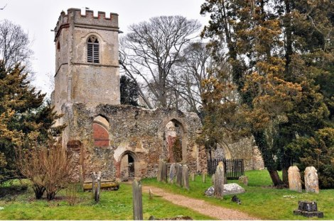 Ayot St Lawrences Old Church.    © Copyright Brian Chadwick and   licensed for reuse under this Creative Commons Licence.