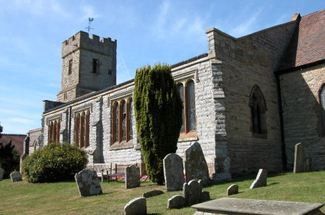 St Laurence, deren 8 Glocken uns am Sonntagvormittag verabschiedeten.    © Copyright Philip Halling and   licensed for reuse under this Creative Commons Licence.