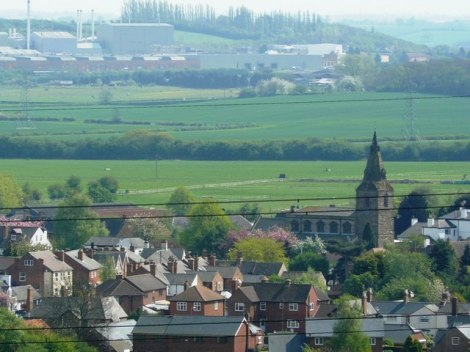 Blick auf Gotham (Nottinghamshire).    © Copyright Andy Jamieson and   licensed for reuse under this Creative Commons Licence.